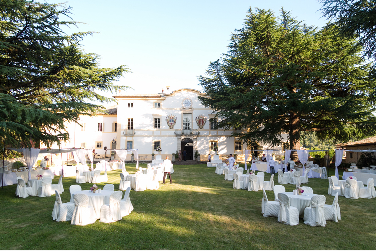 Apollinare Catering - Matrimonio in villa
