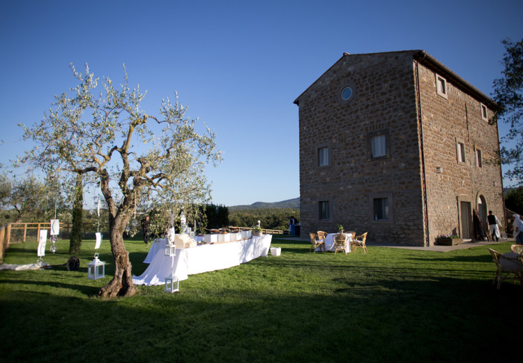 Apollinare Catering - Matrimonio in casa propria
