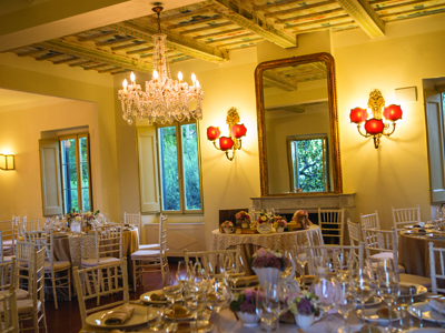 Apollinare Catering - location - villa