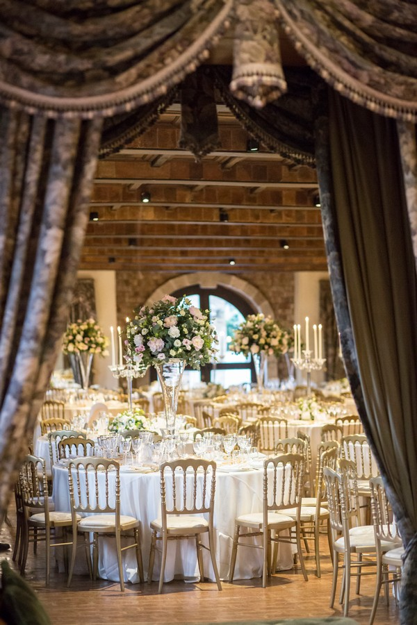 Sala interna luxury wedding