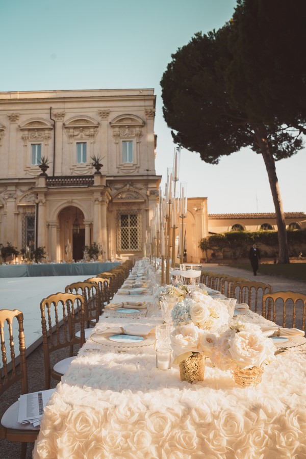 Luxury wedding a Villa Aurelia Roma