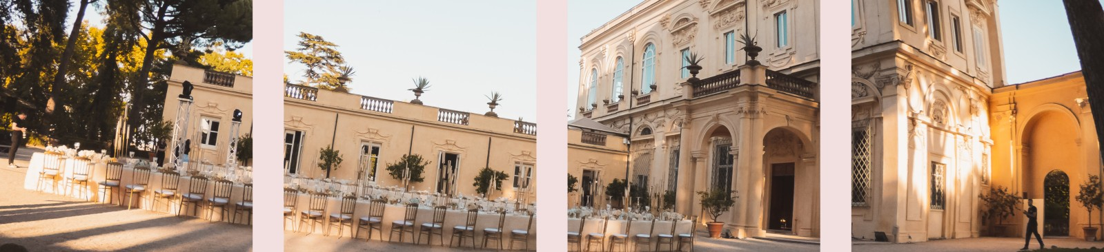 Luxury wedding allestito a Villa Aurelia a Roma